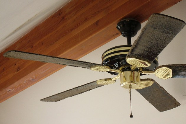 Find Out The Easiest Way To Clean Your Dirty Fan Blades
